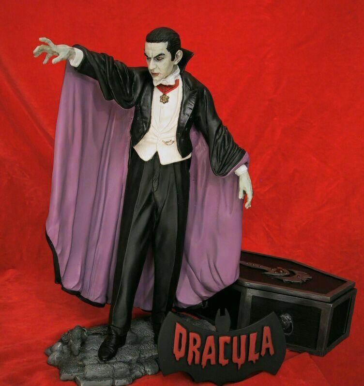 Bela Lugosi Is Dracula Janus 1 7 Scale Vinyl Amp Resin
